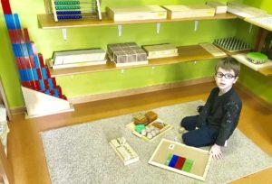 Kącik matematyczny Family Pre-School